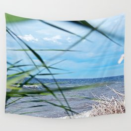 Secluded Beach Wall Tapestry
