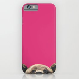 Bear - Pink iPhone Case