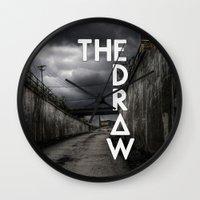 bastille Wall Clocks featuring Bastille - The Draw #2 by Thafrayer