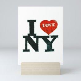 I love NY Mini Art Print