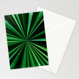 North Texas Green Sun Stationery Cards