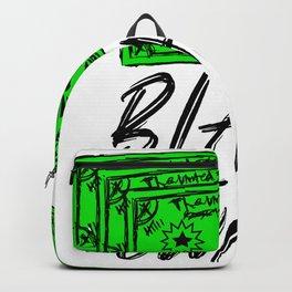 Black Owned Business  Black Lettering Backpack