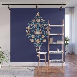 Arabic texture inspired by iranian mosaics Wall Mural