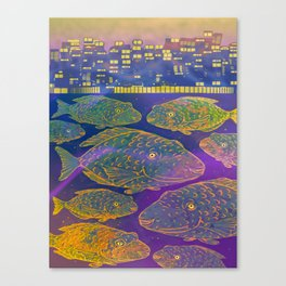 Shoal Canvas Print