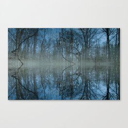 Deep Cool Blue Canvas Print