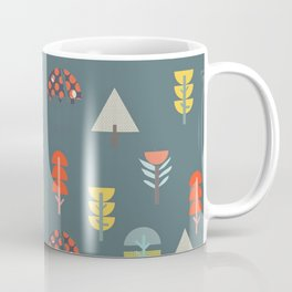 Florals and Trees Coffee Mug