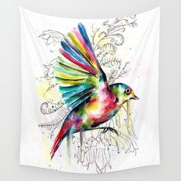 Soaring Wax-eye Wall Tapestry
