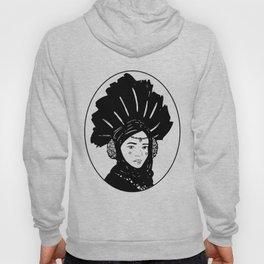 Inktober- Amidala (black and white) Hoody