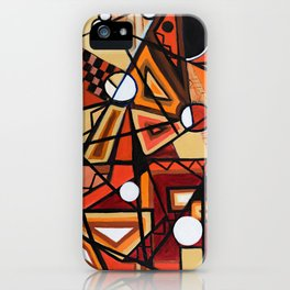 Geometric Composition iPhone Case