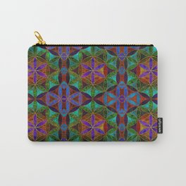 The Flower of Life (Sacred Geometry) 2 Carry-All Pouch