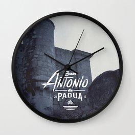 San Antonio de Padua IV Wall Clock