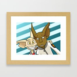 Partners! Framed Art Print