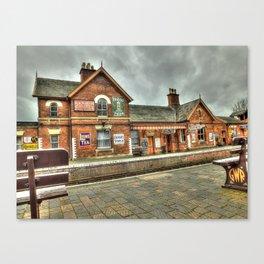 Bewdley Heritage Railway Station Canvas Print