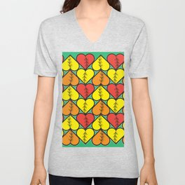 Love Fall Unisex V-Neck