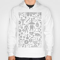 medical Hoodies featuring Medical background by aleksander1