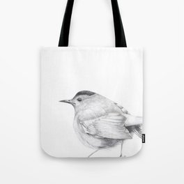 Songbird Stay Awhile Tote Bag