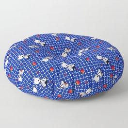 KiniArt Westie Love Doctor Floor Pillow