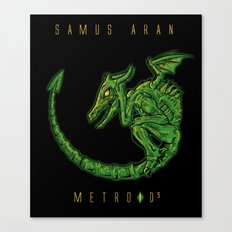 Metroid 3 Canvas Print