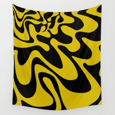 Swirly Whirly: Abstract Pop Art Painting by Bruce Gray Wall Tapestry