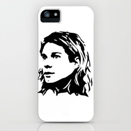 Portrait of Kurt iPhone Case