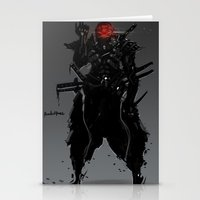 suit Stationery Cards featuring ShadowBlade Suit by Benedick Bana