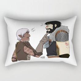 Fenhawke argument? Rectangular Pillow