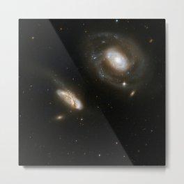 Hubble Space Telescope - Interacting Galaxies NGC 7469 (2008) Metal Print