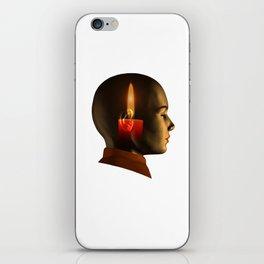 soul, human spirit, inner light iPhone Skin