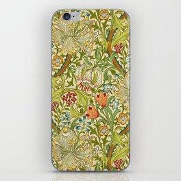 William Morris Golden Lily Vintage Pre-Raphaelite Floral iPhone Skin