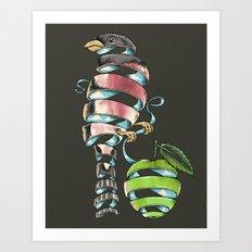 surrealist bird Art Print