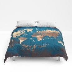 world map 27 Comforters