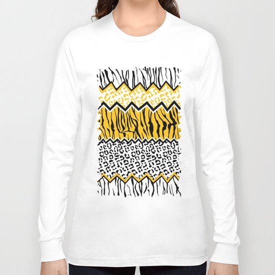 wild stripes pattern Long Sleeve T-shirt