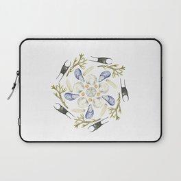 Tide Pool Beach Mandala 1 - Watercolor Laptop Sleeve