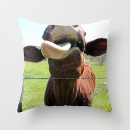Can I Have a Lick? Throw Pillow