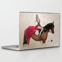 gemma correll Laptop & iPad Skins featuring 38. Gemma by BABA-G | arts and crafts