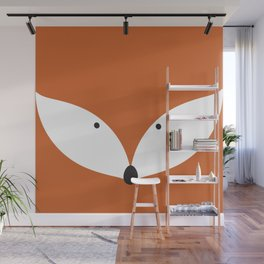 Clever Fox Wall Mural