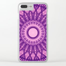 MANDALA NO. 32 Clear iPhone Case