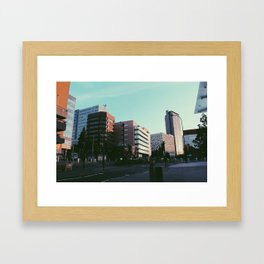 Sheffield Skyscrapers Framed Art Print