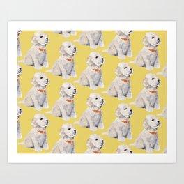 Cockapoo Pups Art Print