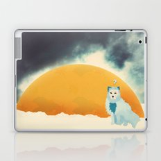 Arctic Fox Stumbles Upon A Meteorite Laptop & iPad Skin
