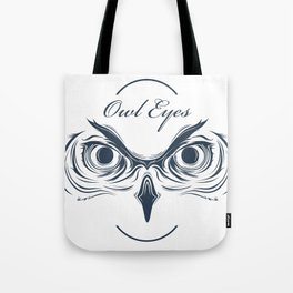 owl eyes Tote Bag