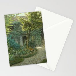 """Jean-François Millet """"Théodore Rousseau's House in Barbizon"""" Stationery Cards"""