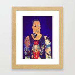 King Carter Framed Art Print