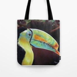 Toco Toucan (Ramphastos Toco) Pastels Artwork Tote Bag