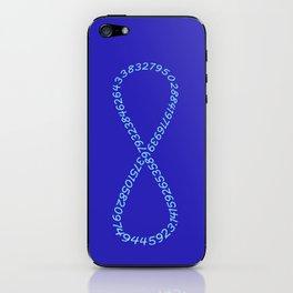 Pi Is Infinite iPhone Skin