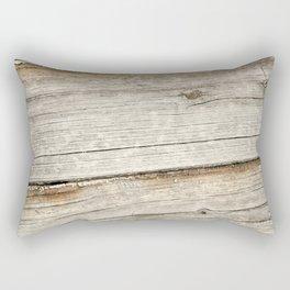 Wood Grain Grasslands Rectangular Pillow