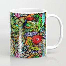 Colorful Bush Coffee Mug