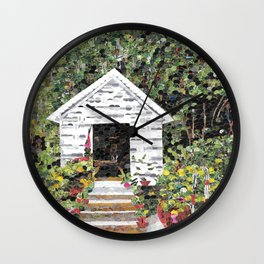 """Garden Getaway"" Wall Clock"