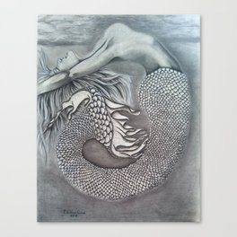 Mermayde Canvas Print