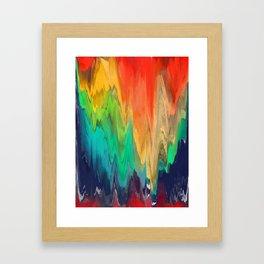Pixel Sorting 67 Framed Art Print
